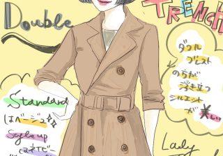 【あのポイントを意識して】美スタイルを実現するトレンチコートの選び方|スタイリストの体型カバーテクニック術 ♯36