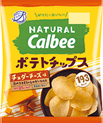 ナチュラルカルビー チェダーチーズ味