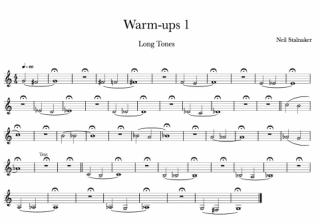 【B♭/デイリー練習譜付き】音色チェックに役立つ、ウォームアップ3つ|大人の音楽LOVER♪ #10