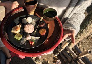 【岡山女子に人気…!】きびだんごを抹茶につける!? 噂のスイーツを食べた! おかやまマラソン後編