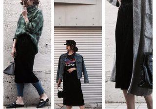 【高見え・最強コスパ!】GUベロアプリーツスカート秋冬着まわし!|デイリーブランド着回し3Days #45