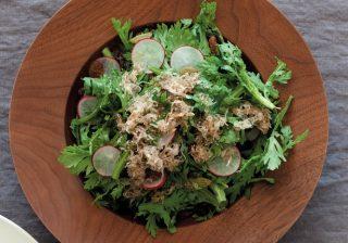 冬の生野菜を味わうレシピ2選 春菊、カリフラワーも生で!