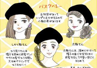 似合わない人、集合…! 大人かわいい「ベレー帽」はこうやって被る|スタイリストの体型カバーテクニック術 ♯55