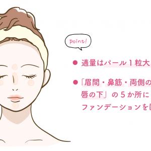 ただ塗ってない…? 簡単に小顔が叶う「ファンデーションの使いかた」|美容ライター直伝モテ美容&メイク #21