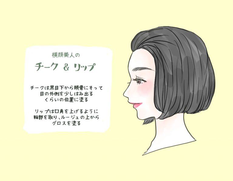 横顔美人3