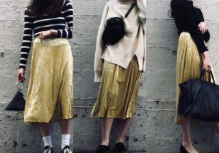 GUの大人スカート…高見え旬アイテム! 春の着こなし3選 デイリーブランド着回し3Days #61