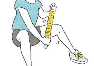 むくみやすい人、必見! 「さらし巻きダイエット」で体を絞る