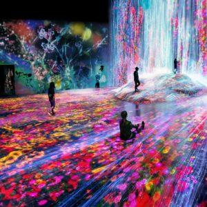 梅雨デートに! 見て触って運動もできちゃうデジタルアートミュージアム