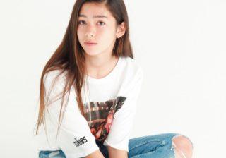 モデルの母から英才教育 13歳女優・新音のプロ意識がスゴイ!