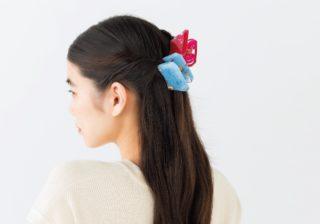 """髪に蝶々がとまったみたい 夏を彩る""""クリア""""な小物"""