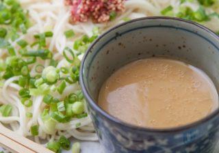 男子の食欲をそそる…♡夏バテ解消「梅入り豆乳ひやむぎ」レシピ