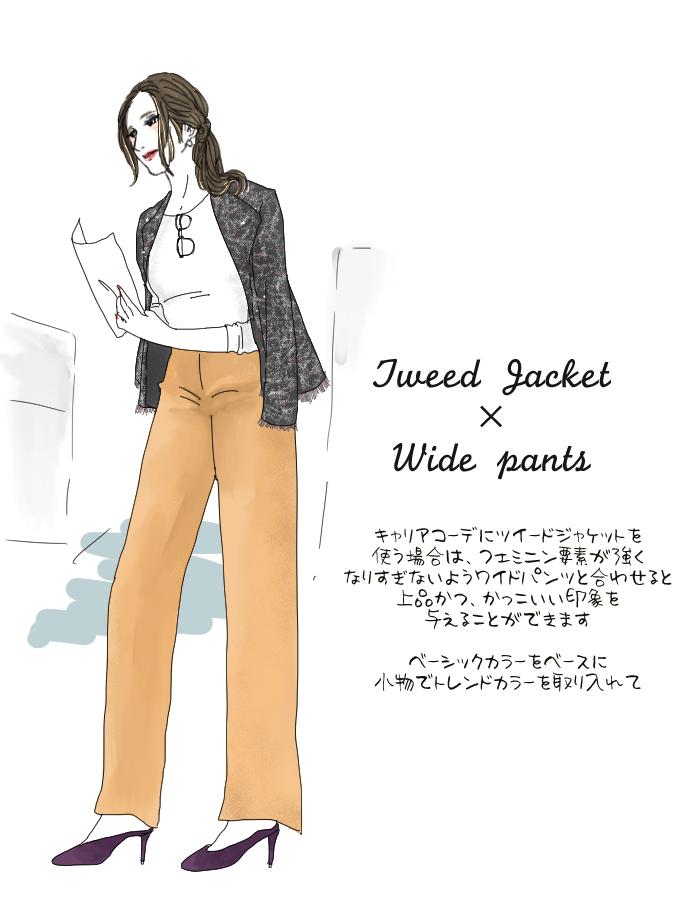 ツイードジャケット2