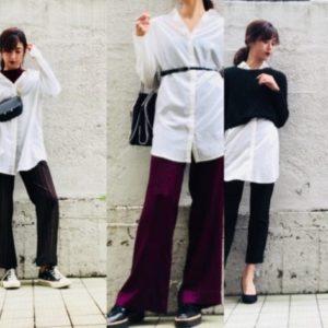 女っぽ急上昇「白シャツ」着回しコーデ! 冬も爽やかモテスタイル3選 | デイリーアイテム着回し3Days #96