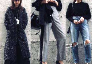 着やせ効果大!女っぽ黒ニット…冬デートに「大人モテコーデ」3選 デイリーアイテム着回し3Days #98