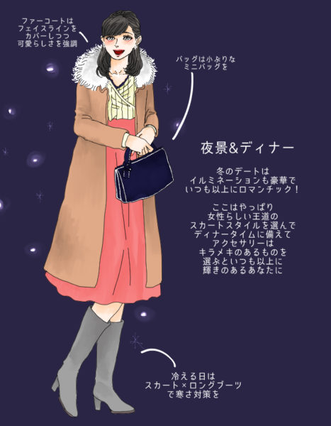 男メロメロ…冬デートシーン別!愛され女子の「鉄板モテコーデ」3選 スタイリストのファッション恋愛術 85