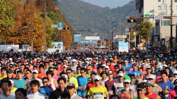 おかやまマラソン2018-1スタート2