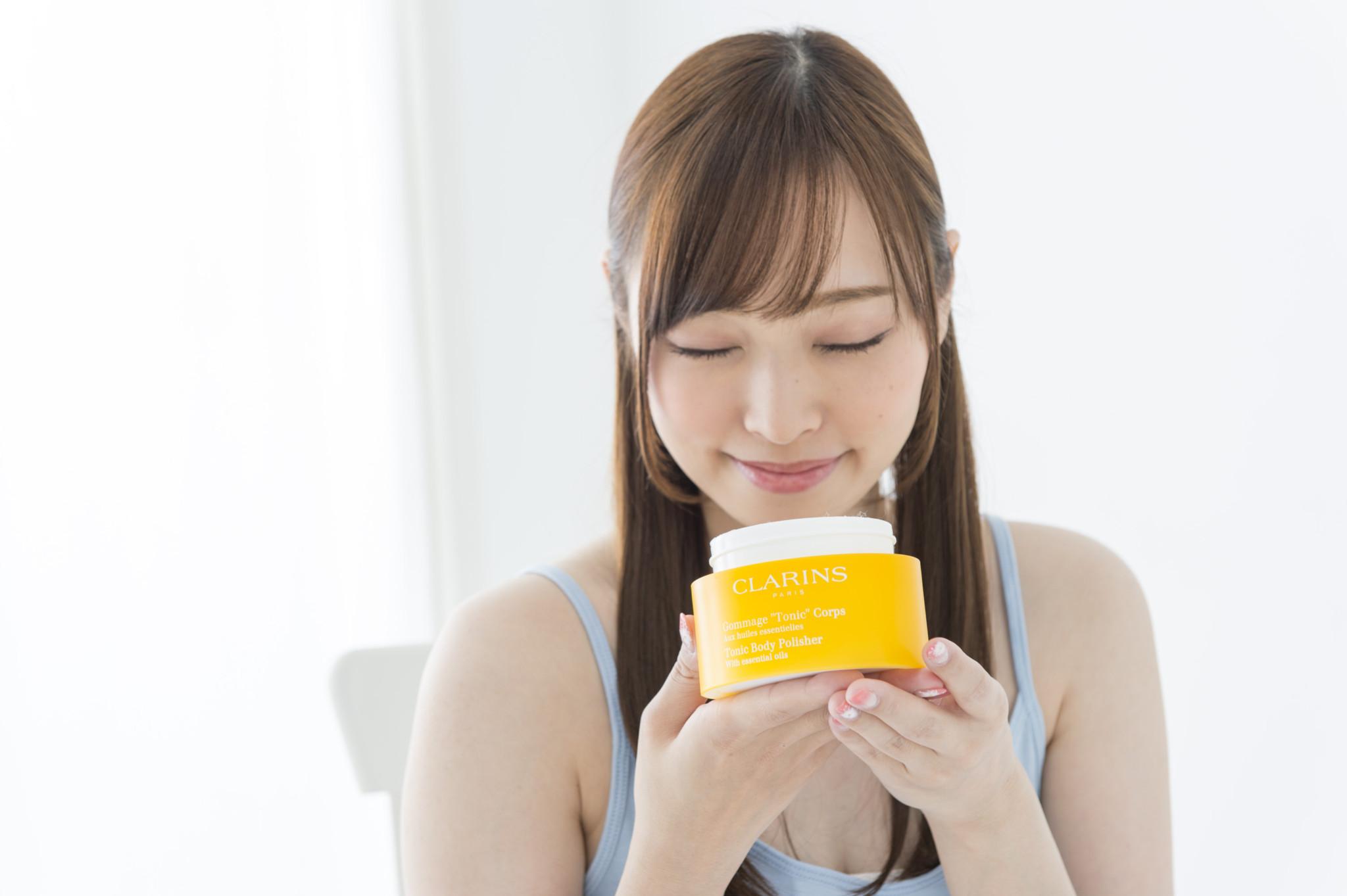 「いい香りに気持ちも満たされる~!」と福塚さん。
