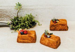 えっ、これパン? トッピングの花や果実が毎日替わるブリオッシュ