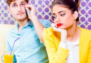 デート中に女子が「脈ナシだな…」と感じた男の行動あるある5選