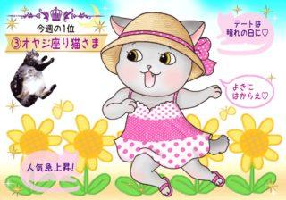 【猫さま占い】最強運の猫さまは? 7月29日~8月4日運勢ランキング