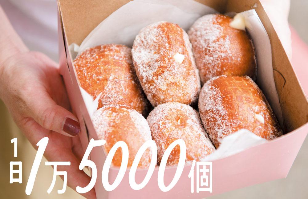 1日1万5000個