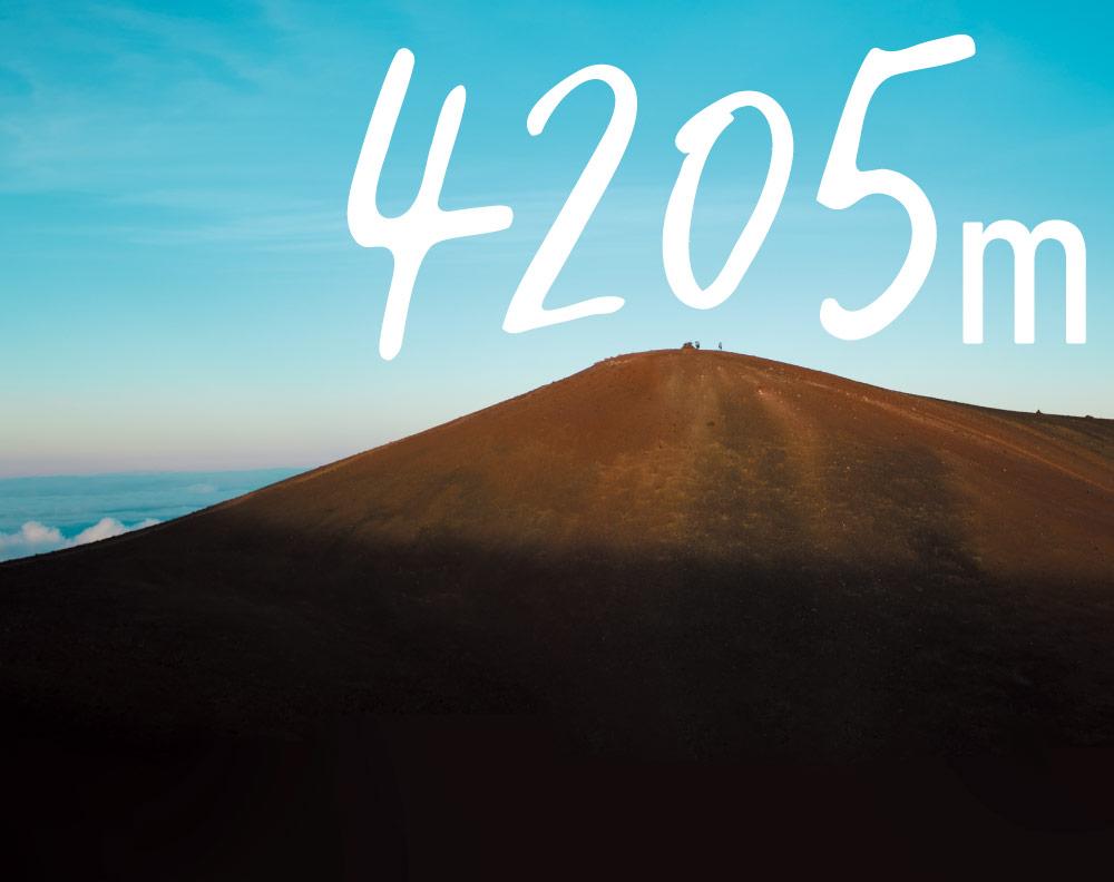 4205m