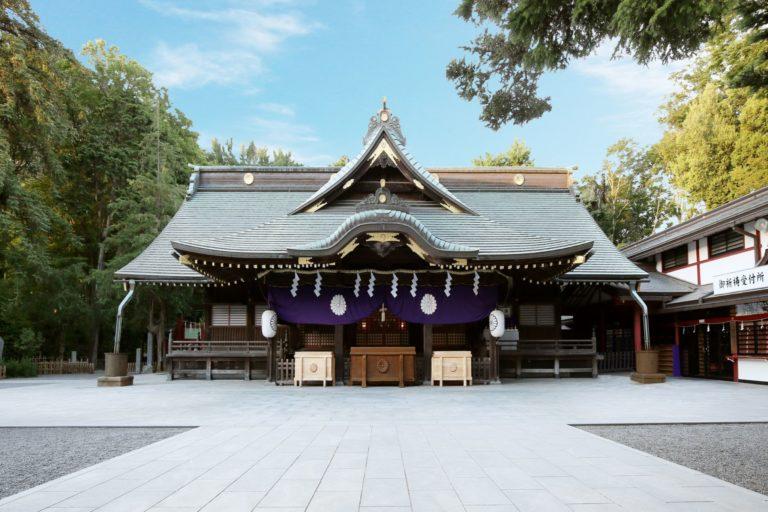 使用1 大國魂神社社殿2