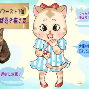 【猫さま占い】不運すぎる猫さまは? 9月9日~9月15日運勢ランキング