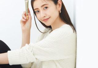 憧れの美肌センパイ、片瀬那奈さんが語る「リンクルケアは、いまが始めどき!」