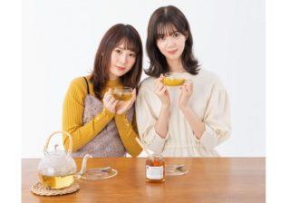 欅坂46・松平璃子&長沢菜々香がワニのポーズ! 就寝前のストレッチ
