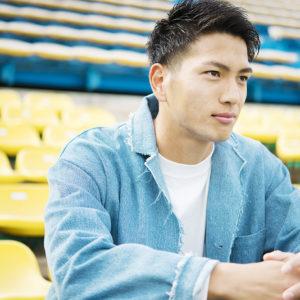 中央大卒のハンサム男子! 柏・上島拓巳「サッカーも勉強も負けたくない」
