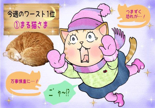 仮名修正コケ猫