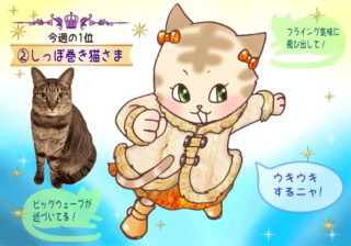 【猫さま占い】最強運到来の猫さまは? 13日~19日運勢ランキング