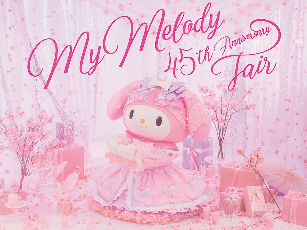 My Melody 45th Anniversary Fair