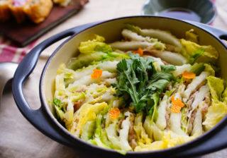 お鍋ひとつで簡単!「白菜と豚肉を重ねるだけ」ガチうま鍋レシピ