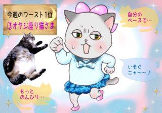 【猫さま占い】災いを呼ぶ猫さまは? 3日~9日運勢ランキング