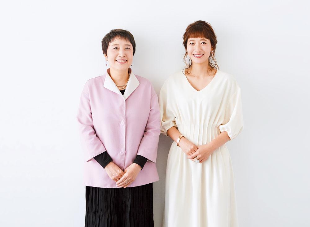 左:山口トキコ先生 右:吉田明世さん