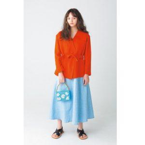 """""""オレンジ""""で春色コーデ! 真似したい1点投入アイテム5選"""