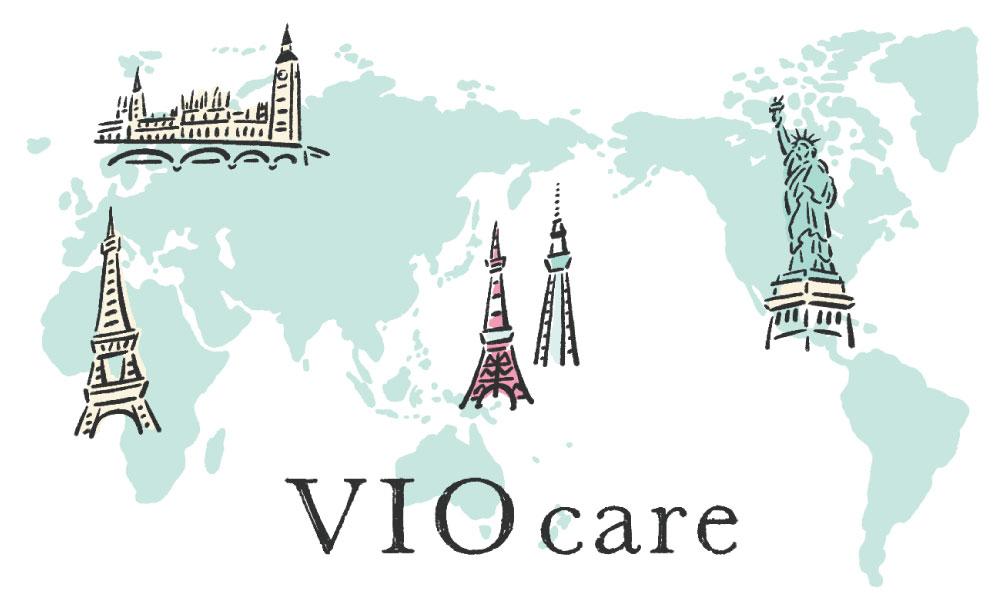 VIO care イメージ