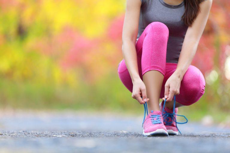 体を動かすために、走る
