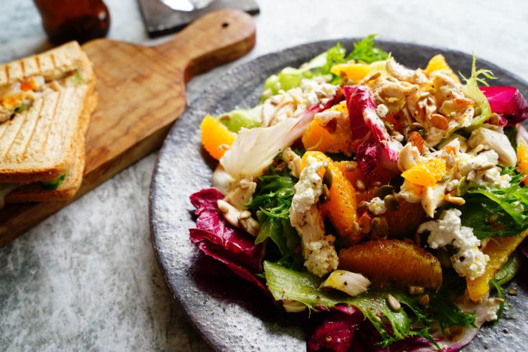 簡単 レシピ 鶏ささみ オレンジ サラダ