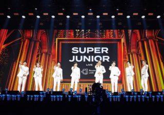 SUPER JUNIORが初のオンライン公演で見せた、 15年の底力と未来への可能性。