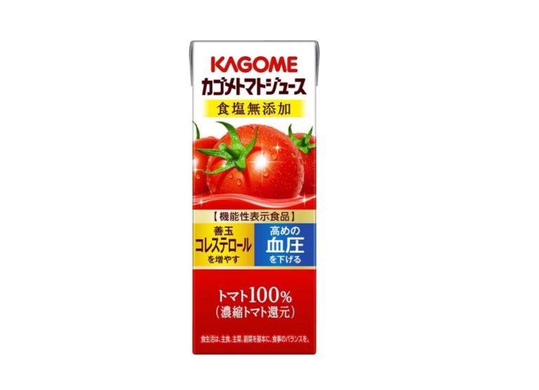 カゴメ トマトジュース 熱中症 予防