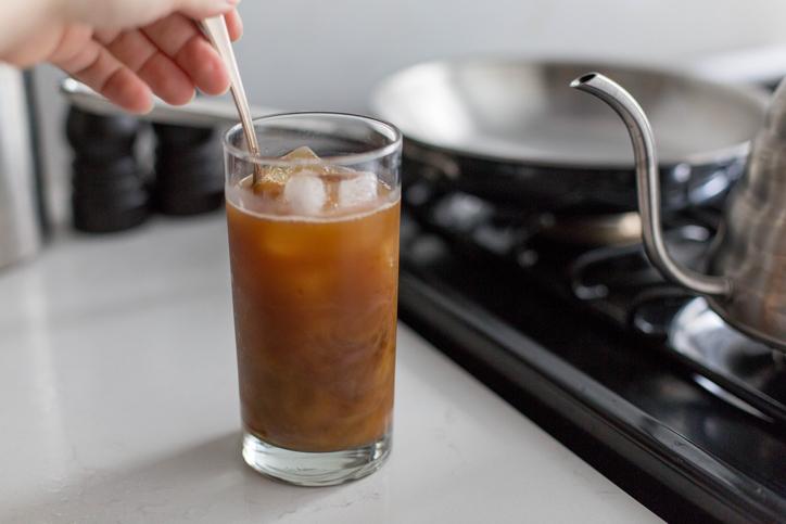 アイスコーヒー カフェ グラス