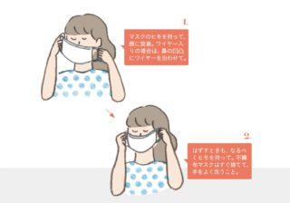 あなたのマスク、本当に大丈夫? 専門家「なるべくヒモだけ触り…」