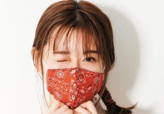 欅坂46・守屋茜のwithマスク生活「オリジナル除菌スプレーでリフレッシュ」