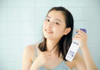 スティーブンノルの美容液ミストで究極の指どおり! 内田理央さんの美髪を作るモーニングルーティンとは?