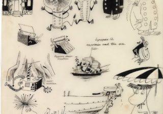 ムーミン75周年展覧会 日本初公開のコミック原画から作者一家の絆まで