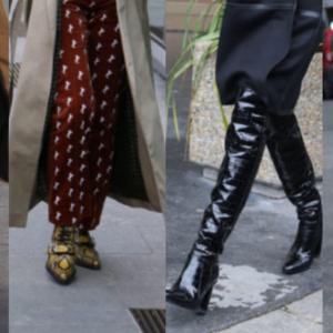 2020年のトレンド靴は?…「秋冬シューズ」人気デザイン6選