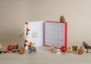 クリスマスまで毎日わくわく! 25種類のティーバッグ入りカレンダー